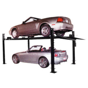 Four Post Hydraulic Car Parking Lift with Ce Certification