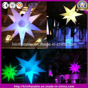 Colorful Inflatable Star Light Balloon Party Decoration Inflatable LED Star