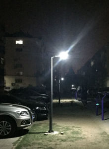 50W (Integrated) All in One Solar Street Light pictures & photos