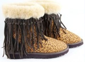 Australia Classic Short 5835 Leopard Boot