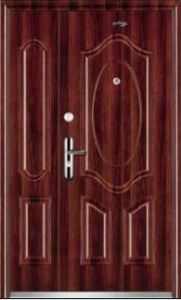 Steel Security Door (JC-205) pictures & photos