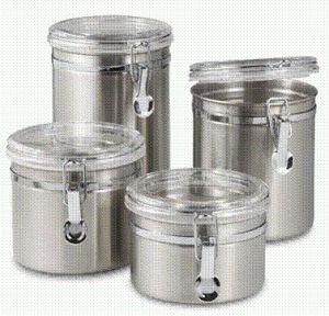 Stainless Steel Storage Pot (EG-SS006)