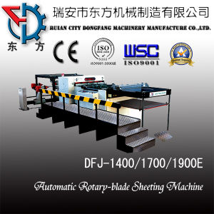 Automatic Cylinder Cross-cut Sheeting Machine (DFJ-1400-1700C) pictures & photos