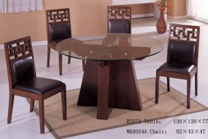 China Round Glass Dining Table Set China Dining Room