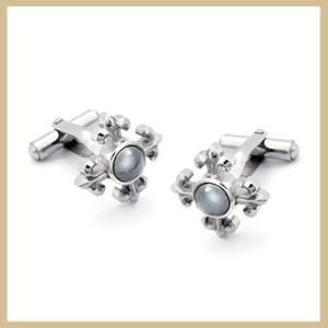 Women′s Stainless Steel Cuff Link (TPCMK105)