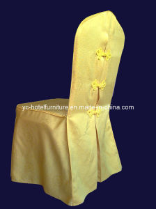 Elegant Plain Chair Skirt Cover (FCX-285) pictures & photos