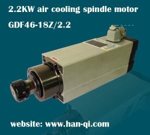 2.2kw Square Air Cooling Hqd Wood Cutting Spindle Motor Gdf46-18z/2.2 pictures & photos