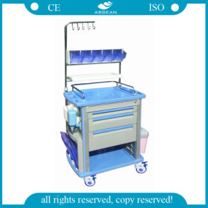 AG-Nt003A1 ABS Hospital Use ISO&Ce Emergency Trolley pictures & photos