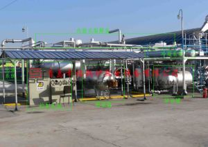 Batch and Continuous Waste Tyre Pyrolysis Plant (XF, IV) pictures & photos