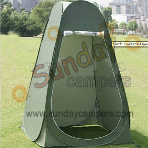 Camping Pop up Tents, Shower/Toilet Tents, Outdoor Changing Tents (ST-01) pictures & photos