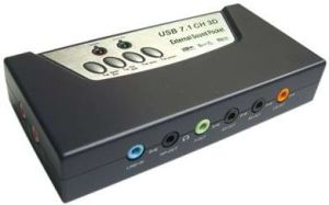 USB Sound Card (UK-SC118)