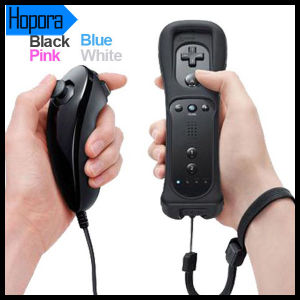 Remote Bluetooth Controller and Nunchuck for Nintendo Wii Remote Motion Plus pictures & photos