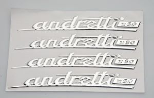 Custom Silver 3D PVC Sticker for Cars pictures & photos