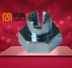 Customized Machine Parts Hex Nut Flange Nut Stainless Steel Nut Fasteners CNC Machined