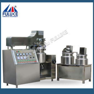 Flk Ce Automatic 10-500L Color Cosmetics Vacuum Emulsifying Machine pictures & photos