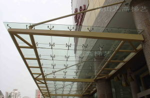 Glass Rain Shed Canopy Yg-C12