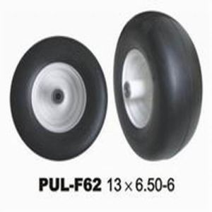 Black PU Foamed Lawn Mower Tyre pictures & photos