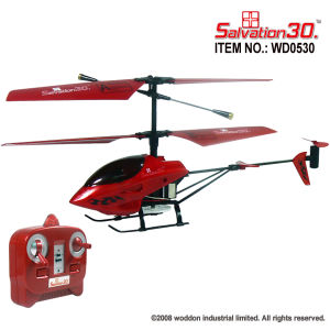 RC Toy Indoor Micro 3CH Helicopter (WD0530)
