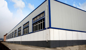 Prefabricated Steel Building for Warehouse/ Workshop (SSB121) pictures & photos