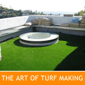 Rooftops Garden with Quality Artificial Grass