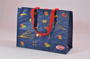 Recyle Small Size Tote Folding Pocket Non Woven Carry Bags (MECO370) pictures & photos