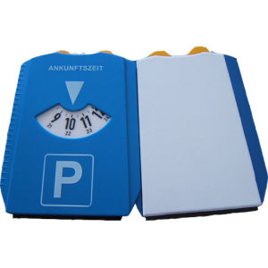Best Selling Plastic Parking Disc with Clock pictures & photos
