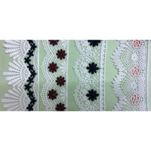 Embroidery Polyester Trimming Lace (1766) pictures & photos