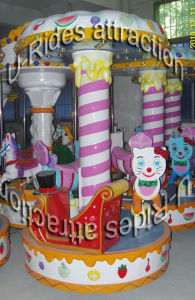 Electric Play Equipment Mechanical Carousel Game for Kids pictures & photos