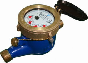 OIML R49 Certified MJ Dry Type Water Meter (LXSC-15E)