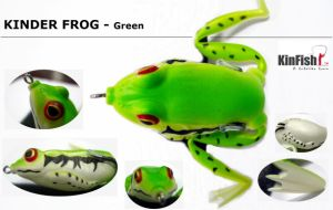 Fishing Tackle Fishing Lure Kinder Frog (FKF120)
