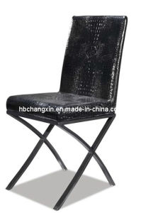 New Modern Popular and Comfortable Leather Dining Chair pictures & photos