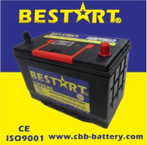 12V75ah Premium Quality Bestart Mf Vehicle Battery JIS 75D31L-Mf pictures & photos