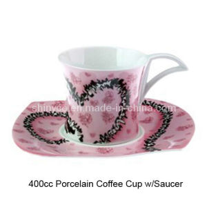 Porcelain Coffee Cup Set W/Saucer (Style# 2789)
