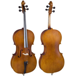 Student Basswood Plywood Cello (N-C-01) pictures & photos