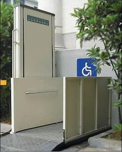 Vertical Platform Lift for Disabled People (SJD) pictures & photos
