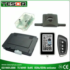 LCD 2-Way Remote Car Alarm with Slim Design (2960NRDP-I11)