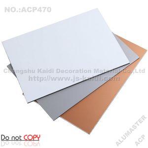 Silver ACP Aluminum Composite Material (ACP470)