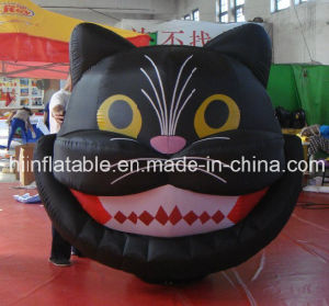Hot Sale Halloween Decoration Inflatable Black Cat pictures & photos
