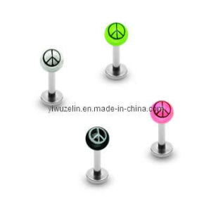 Colorful Lip Ring Body Piercing Jewelry (LCL-053001)