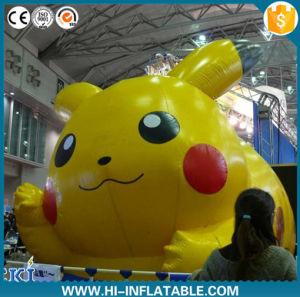 Custom Parade Inflatable Pikachu Cartoon, Inflatable Pikachu Model