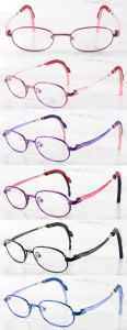 Classic Stainless Steel Kids Optical Frame (OMK120041) pictures & photos
