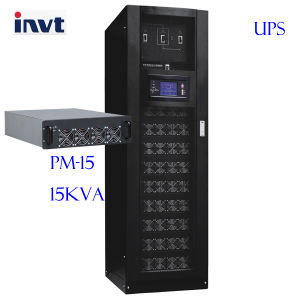 Invt RM 15-300kVA Inbuilt PDU Modular Design Ture Online UPS pictures & photos