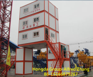Container Model Concrete Mixing Plant-120m3/H pictures & photos