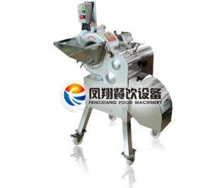 CD-800 Automatic Aloe Vera Cube Dicing Machine (3mm-25mm) pictures & photos