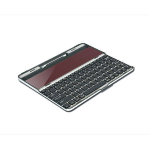 Solar Keyboard for iPad Series and Other Brand (Black) (SDL-JT2012B) pictures & photos