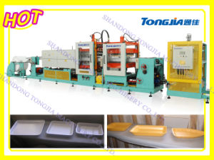 EPS/PSP Fastfood Tray Vacuum Forming Machine (JG-ZXC) pictures & photos