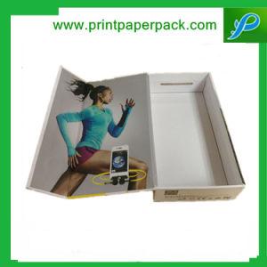 Custom Printed Premium Cardboard Paper Jewelry Box pictures & photos