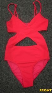 One- Piece Swimwear Made of 82% Nylon and 18% Spandex pictures & photos