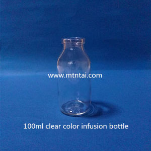 100ml Clear Color Infusion Bottles USP Type I pictures & photos