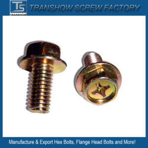 M10X16 Cross Recess Flange Bolts pictures & photos